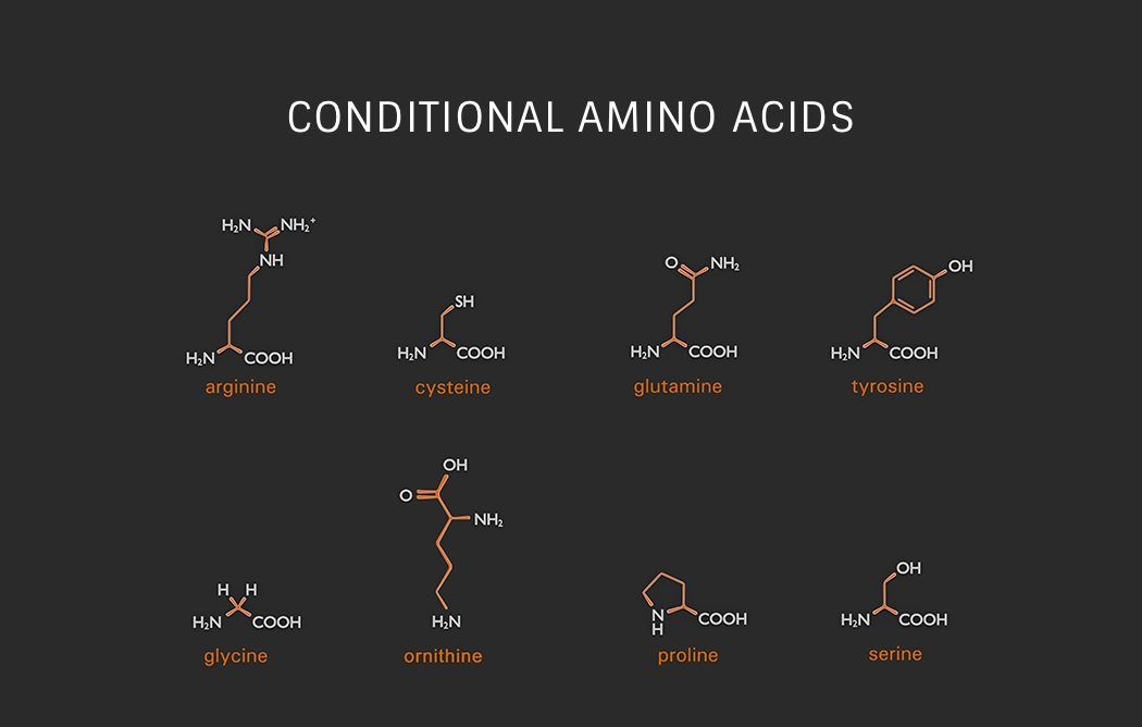 Conditional Amino Acids