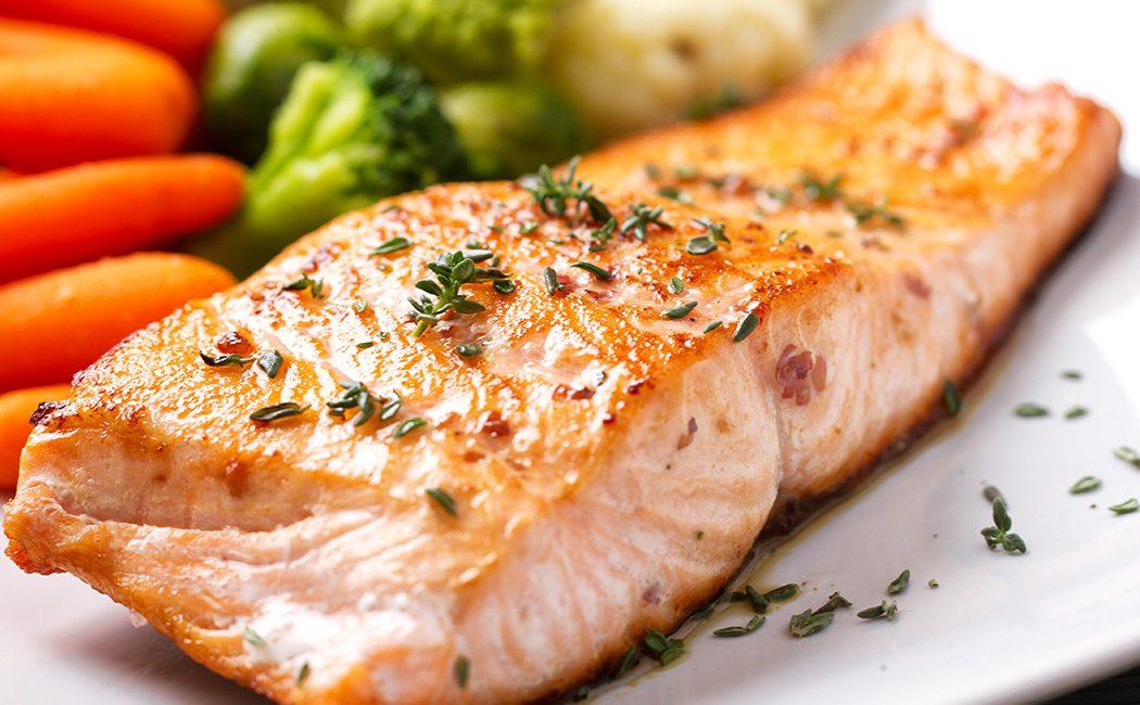 Selenium and Zinc rich food, Salmon