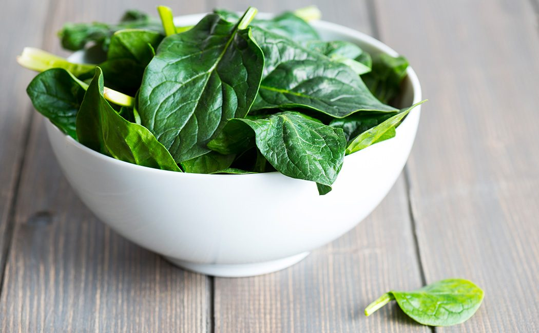 Bowl of Spinich
